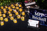 MPP Brickell sponsors Nightmare on the Beach 2013 Halloween party at Villa Vecchia, Miami Beach, Florida, on October 26, 2013