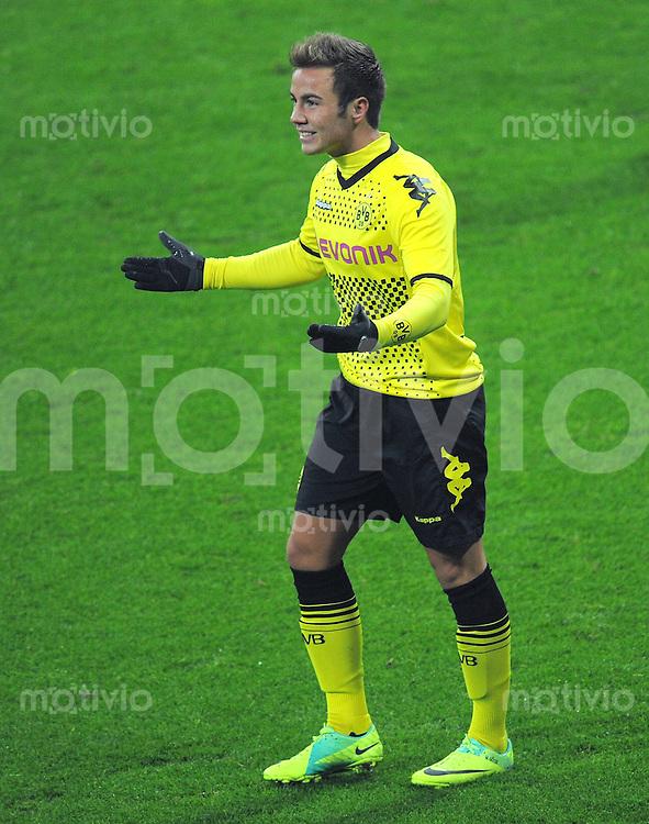 FUSSBALL   1. BUNDESLIGA  SAISON 2011/2012   13. Spieltag FC Bayern Muenchen - Borussia Dortmund        19.11.2011 Mario Goetze (Borussia Dortmund)