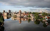 Nederland - Zaandam- 2020.  De oude Verkade Fabriek aan de Zaan. Tegenwoordig zijn er in het pand diverse bedrijven, zoals Verskade gevestigd.Foto ANP / Hollandse Hoogte / Berlinda van Dam