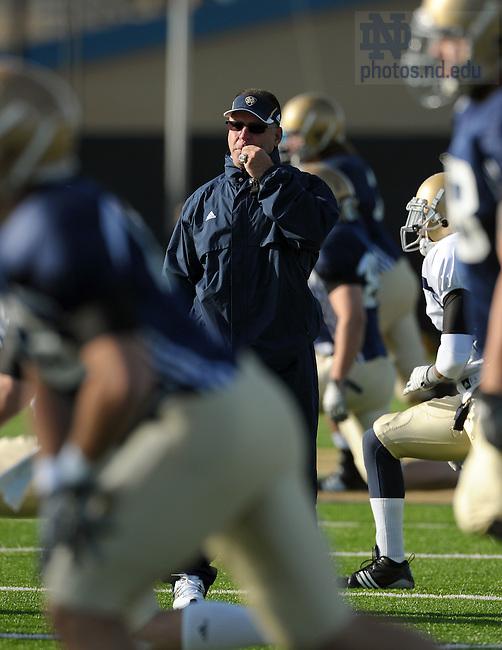 Notre Dame Strength & Conditioning Coach Paul Longo..Photo by Matt Cashore