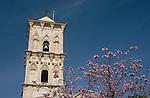 Larnaca, St. Lazarus Church, Bell-Tower, Kirchturm, Glockenturm,  Cyprus,  Zypern.