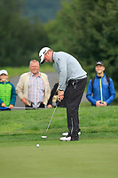 Jamie Donaldson (WAL) on the 2nd green during Round 4 of the D+D Real Czech Masters at the Albatross Golf Resort, Prague, Czech Rep. 03/09/2017<br /> Picture: Golffile | Thos Caffrey<br /> <br /> <br /> All photo usage must carry mandatory copyright credit     (&copy; Golffile | Thos Caffrey)