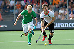 NED - Amsterdam, Netherlands, August 20: During the men Pool B group match between Germany (white) and Ireland (green) at the Rabo EuroHockey Championships 2017 August 20, 2017 at Wagener Stadium in Amsterdam, Netherlands. Final score 1-1. (Photo by Dirk Markgraf / www.265-images.com) *** Local caption *** Moritz Trompertz #10 of Germany