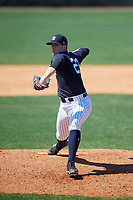 New York Yankees pitcher Drew Finley (23) during a Minor League Spring Training game against the Detroit Tigers on March 21, 2018 at the New York Yankees Minor League Complex in Tampa, Florida.  (Mike Janes/Four Seam Images)