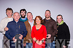 Anthony O'Leary, Mike Kelliher, Paul Murphy, Dan O'Leary, Mossie O'Leary, Mary O'Leary and Colm Casey enjoying the concert by Killarney musicians in aid of the victims of the Nepal Earthquake in the Gleneagle Hotel on Friday night