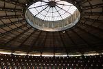 Circular La Conchacircular nineteenth century solera building, Gonzalez Byass bodega, Jerez de la Frontera, Spain