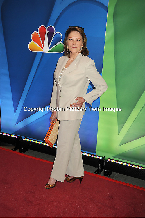 Linda Lavin arrives at the NBC Upfront Presentation for 2013-2014 Season on May 13, 2013 at Radio City Music Hall in New York City.