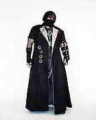 Nazario Claudio, of Fuquay Varina, N.C., dressed in an original design