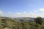 Golan Heights, a view from Ein Aya