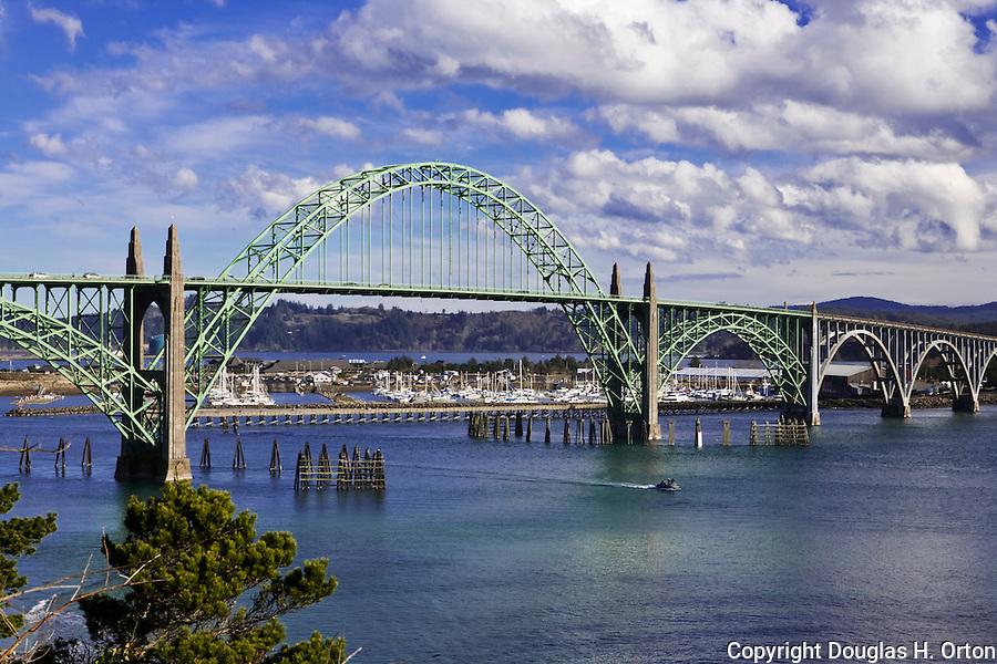 Yaquina Bay Bridge Oregon Coast Highway 101 Oregon Coast
