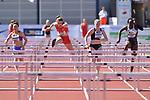 29.06.2019, Stadion Ratingen, Ratingen, DLV, Mehrkampfmeeting im Bild 100m Hürdenlauf der Damen.<br /> <br />   <br /> <br /> Foto © nordphoto / Freund
