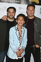 LOS ANGELES - SEP 26:  Ron Truppa, Kaden Alejandro, Kevin Alejandro at the 2019 Catalina Film Festival - Thursday at the Queen Mary on September 26, 2019 in Long Beach, CA
