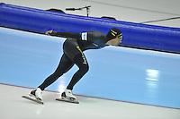 SCHAATSEN: HEERENVEEN: 29-12-2013, IJsstadion Thialf, KNSB Kwalificatie Toernooi (KKT), 1000m, Kjeld Nuis, ©foto Martin de Jong