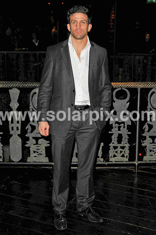**ALL ROUND PICTURES FROM SOLARPIX.COM**                                             **WORLDWIDE SYNDICATION RIGHTS**                                                                                  Caption: Liz McClarnon 30th birthday party, held at Shaka Zulu, The Stables Market, Chalk Farm Road, London, UK. Wednesday, April 13, 2011                                                                              This pic: Alex Reid                                                                                         JOB REF: 13140 MSR       DATE: 13_04_2011                                                           **MUST CREDIT SOLARPIX.COM OR DOUBLE FEE WILL BE CHARGED**                                                                      **MUST AGREE FEE BEFORE ONLINE USAGE**                               **CALL US ON: +34 952 811 768 or LOW RATE FROM UK 0844 617 7637**