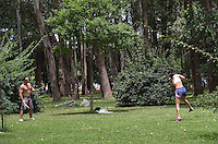 SAO PAULO, 03 DE MARCO DE 2013 - CLIMA TEMPO SP - Paulistano aproveita dia de sol e calor no Parque do Ibirapuera, regiao sul da capital, na manha deste domingo, 03. (FOTO: ALEXANDRE MOREIRA / BRAZIL PHOTO PRESS)
