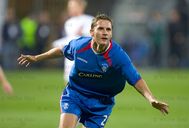 Peter Lovenkrands, Rangers.stock season 2004-2005.pic willie vass