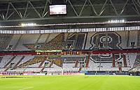 Vorbereitete Choreographie zum WM Jahr 2018 und zur Mission Titelverteidigung - 23.03.2018: Deutschland vs. Spanien, Esprit Arena Düsseldorf