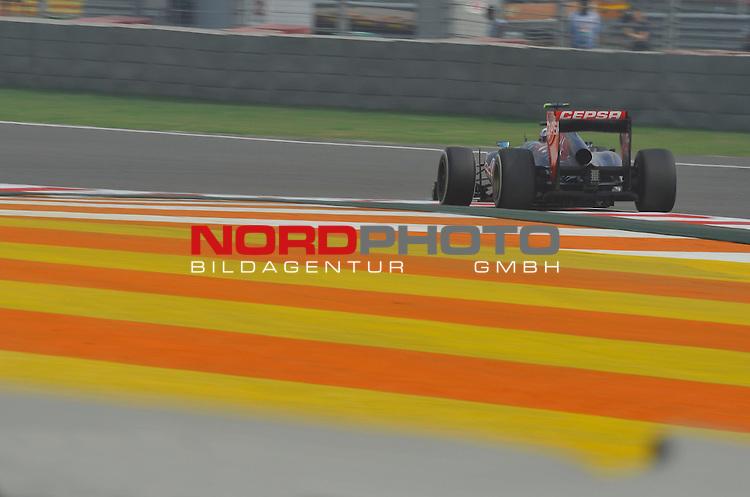 25.-27-10-2013, Jaypee-Circuit, Noida, IND, F1, Grosser Preis von Indien, Noida, im Bild Daniel Ricciardo (AUS) Scuderia Toro Rosso <br />  Foto &copy; nph / Mathis