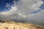 A view of the Jordan Valley from the Horn of Sartaba, site of the Hasmonean fortress Alexandrion (Alexandrium)