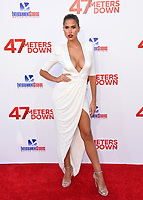 Kara Del Toro at the Los Angeles premiere for &quot;47 Meters Down&quot; at the Regency Village Theatre, Westwood. <br /> Los Angeles, USA 12 June  2017<br /> Picture: Paul Smith/Featureflash/SilverHub 0208 004 5359 sales@silverhubmedia.com