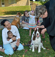 Louisville Presbyterian Theological Seminary's Blessings of the Animals 2012