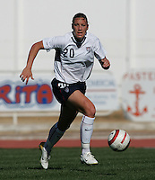 MAR 11, 2006: Quarteira, Portugal:  USWNT forward Abby Wambach