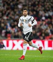 Emre Can (Liverpool) of Germany during the International Friendly match between England and Germany at Wembley Stadium, London, England on 10 November 2017. Photo by Andy Rowland.