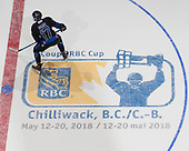 Chilliwack, BC - May 13 2018 - GAME 3 -  	Steinbach Pistons vs. Wenatchee Wild during the 2018 RBC Cup at the Prospera Centre in Chilliwack, British Columbia, Canada (Photo: Matthew Murnaghan/Hockey Canada)