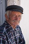 Portrait of an elder Greek Fisherman. Perhaps he wasn't but he looked the part.