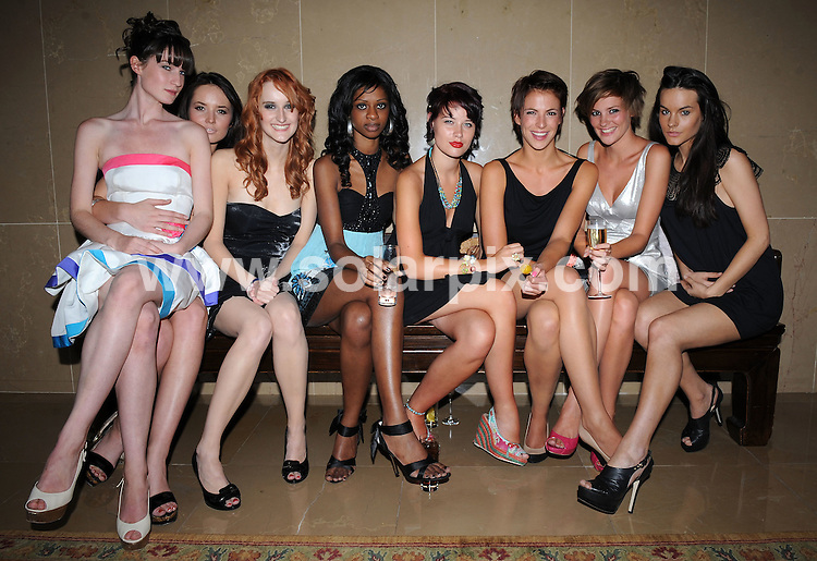 **ALL ROUND PICTURES FROM SOLARPIX.COM**.**WORLDWIDE SYNDICATION RIGHTS**.Contestants and presenter of 'Britain's Next Top Model' TV series attend the series 4 wrap party. Held in the Atrium of the Mayfair Hotel, Berkley Street, London, UK.  July 04, 2008...This pic: Finalists..JOB REF: 8228 SSD     DATE: 04_07_2008.**MUST CREDIT SOLARPIX.COM OR DOUBLE FEE WILL BE CHARGED* *UNDER NO CIRCUMSTANCES IS THIS IMAGE TO BE REPRODUCED FOR ANY ONLINE EDITION WITHOUT PRIOR PERMISSION*