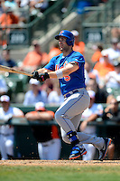 New York Mets third baseman David Wright #5 during a Spring Training game against the Baltimore Orioles at Ed Smith Stadium on March 30, 2013 in Sarasota, Florida.  (Mike Janes/Four Seam Images)