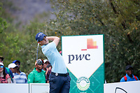 Thomas Detry (BEL) on the 14th tee during the final round of the Nedbank Golf Challenge hosted by Gary Player,  Gary Player country Club, Sun City, Rustenburg, South Africa. 11/11/2018 <br /> Picture: Golffile | Tyrone Winfield<br /> <br /> <br /> All photo usage must carry mandatory copyright credit (&copy; Golffile | Tyrone Winfield)