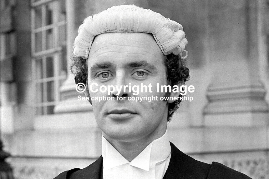 Joseph Patrick Clerkin, barrister, N Ireland, UK, 197111000474JPC.<br />