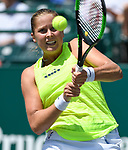 Shelby Rogers (USA) defeated Veronica Cepede Royg (PAR) 6-7, 6-3, 7-6