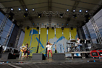 SÃO PAULO, SP 27.07.2019: FESTIVAL BLUES-SP - No palco, Ricardo Herz Trio. Acontece em São Paulo a quinta edição do Festival BB Seguros de Blues e Jazz, na tarde deste sábado, 27, na Ilha Musical do Parque Villa-Lobos, na zona oeste da capital paulista. (Foto: Ale Frata/Código19)