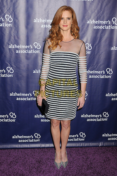 18 March 2015 - Beverly Hills, California - Sarah Rafferty. 23rd Annual &quot;A Night at Sardi's&quot; Benefit for the Alzheimer's Association held at The Beverly Hilton Hotel. <br /> CAP/ADM/BP<br /> &copy;BP/ADM/Capital Pictures