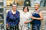 Enjoying  The Midsummer's Ball in aid of the Palliative Care Unit at the Rose Hotel on Friday were Catherine Moriarty, Noreen McElligott and Helen McElligott