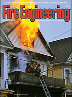 August 2016 Cover of Fire Engineering Magazine. Shot was taken on October,5 2013.