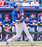 8 March 2015: New York Mets infielder Wilmer Flores in Spring Training action against the Boston Red Sox at Tradition Field in Port St. Lucie, Florida. The Mets fell to the Red Sox 6-3 in Grapefruit League play. Mandatory Credit: Ed Wolfstein Photo *** RAW (NEF) Image File Available ***