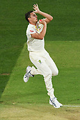 3rd December 2017, Adelaide Oval, Adelaide, Australia; The Ashes Series, Second Test, Day 2, Australia versus England; Josh Hazlewood of Australia runs in to bowl