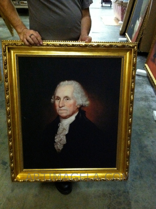 Reproduction Of Rembrandt Peale (1778-1860)<br />