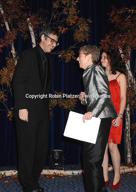 Ira Glass and Terry Gross..at The National Book Awards on November 14, 2007 at ..the Marriott Marquis Hotel in New York, The event was hosted by Fran Lebowitz...Robin Platzer, Twin Images......