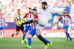 Vicente Iborra de la Fuente of Sevilla FC in action during their La Liga match between Atletico de Madrid and Sevilla FC at the Estadio Vicente Calderon on 19 March 2017 in Madrid, Spain. Photo by Diego Gonzalez Souto / Power Sport Images