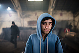 Inoffizielles Flüchtlingslager in Belgrad im Winter 2017