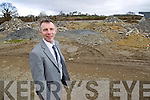Paudie Healy project manager at the site of the National Sports and Adventure Centre home to the Kerry Stars Special Olympics club.