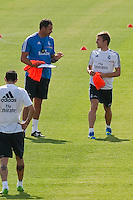 Player, Illarramendi, during Real Madrid´s first training session of 2013-14 seson. July 15, 2013. (ALTERPHOTOS/Victor Blanco) ©NortePhoto