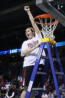 31 March 2008: Morgan Clyburn during Stanford's 98-87 win over the University of Maryland in the elite eight game of the NCAA Division 1 Women's Basketball Championship in Spokane, WA.