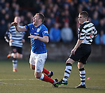 Kevin Kyle fouled by Jamie MvKernon