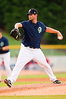 Starting pitcher Doug Davis #33 of the Charlotte Knights in action against the Pawtucket Red Sox at Knights Stadium on August 11, 2011 in Fort Mill, South Carolina.  The Red Sox defeated the Knights 3-2.   (Brian Westerholt / Four Seam Images)