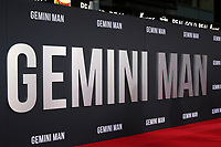"""LOS ANGELES - OCT 6:  Atmosphere at the """"Gemini"""" Premiere at the TCL Chinese Theater IMAX on October 6, 2019 in Los Angeles, CA"""